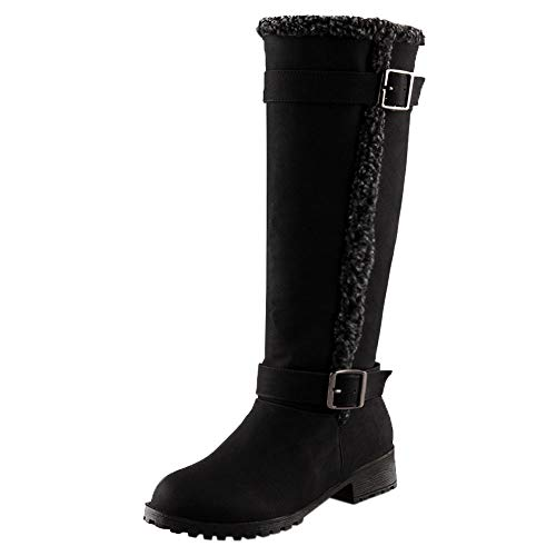 - HYIRI Originals Winter Warm Snow Boot,Women Casual Comfortable Warm Plush Winter Knee High Boots