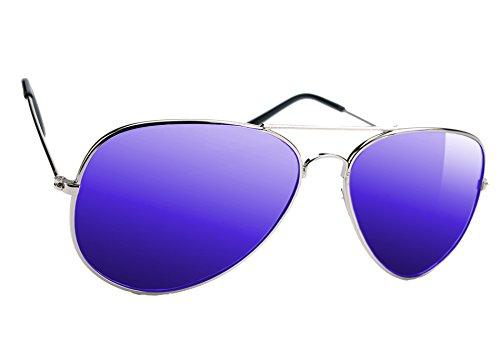 Pilot Romens Ltd Mirrored Polarisés Lunettes Polarisées Cas Style Pour De Soleil Verres Femme Blue Homme Miroir Les 5Tqf4a