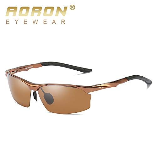 nbsp;Gafas Mjia B Aluminio nbsp;Protección de visión sunglasses HD magnesio UV400 Aluminio polarizadas Sol Hombre Reflejo Gafas nbsp;Protección de Deportivas B nbsp; Anti xrFn0CrOqw