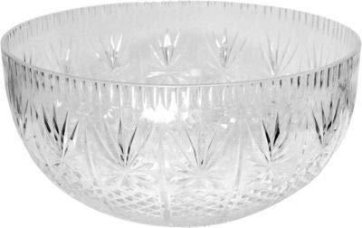 Crystalware Maryland Plastics Crystal Cut Bowl, 12 quart, -