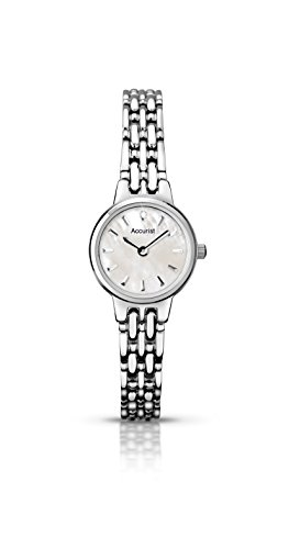 Ladies Accurist Watch LB1407P With Mother of pearl Dial
