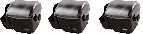 San Jamar BD2003 Mini Dome Garnish Center with Chillable Tray, 2pt Capacity (3-(Pack))