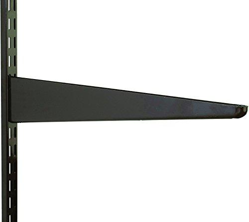 220mm Brown Watson Twin Slot Shelving Bracket by Watson Lok Twin Slot Shelving (Bracket Slot Twin)