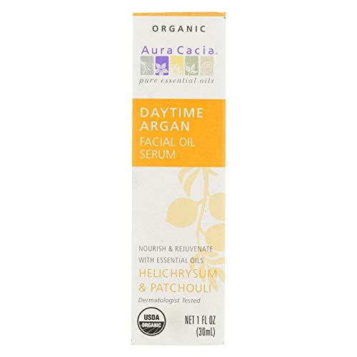 Aura Cacia, Serum Facial Oil Helichrysum Patchouli Organic, 1 Ounce