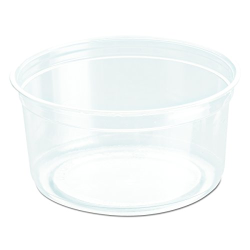 Solo Foodservice DM12R-0090 Food Container, 12 oz, Clear (Pack of 500)