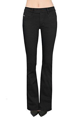 Twill Bootcut Pants - 5