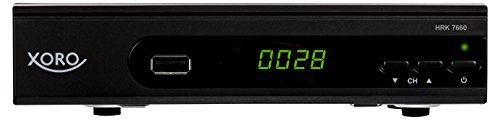 Xoro HRK 7660 HDReceiverfür digitalesKabelfernsehen(HDMI, SCART, USB 2.0, LAN, PVR Ready, Mediaplayer) schwarz
