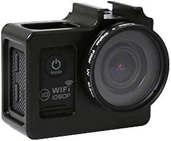 Black MEETBM ZIMO,SG169 Universal Aluminum Alloy Protective Case with 40.5mm UV Filter /& Lens Protective Cap for SJCAM SJ4000 /& SJ4000 WiFi /& SJ4000 WiFi /& SJ6000 /& SJ7000 Sport Action Camera