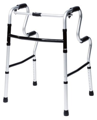 Lumex 700175CR UpRise Onyx Folding Walker