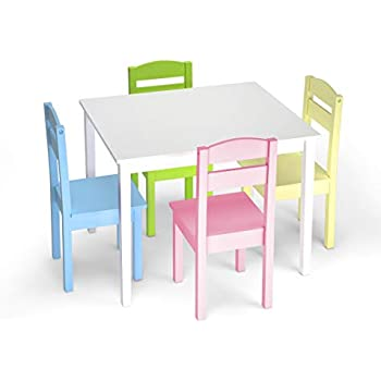 Amazon Com Kidkraft Nantucket Table With Bench And 2