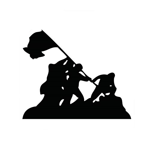 Ships Iwo Jima - Iwo Jima WWII Silhouette 6