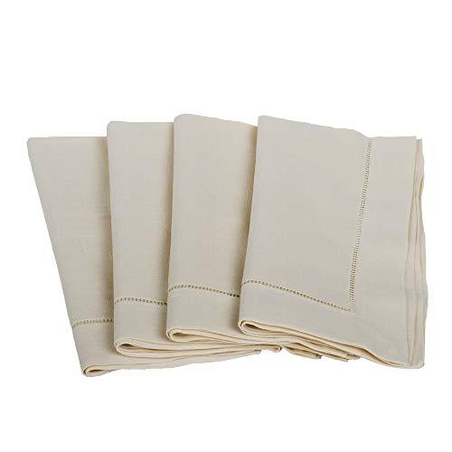 Ecru Linen Fabric - Bumblebee Linens 20