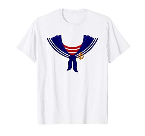 Halloween Sailor Captain Shirt   Simple Sailing Crew Gift -