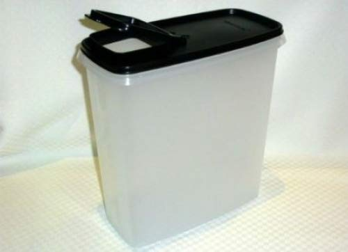 Tupperware Cereal - Tupperware Modular Mates Super Cereal 20 Cup Storer Jet Black