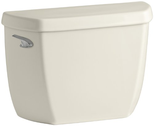 KOHLER K-4436-47 Wellworth 1.28 gpf Toilet Tank with Class Five Flushing Technology, -