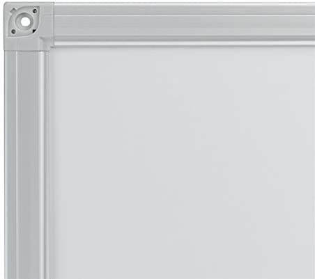 wei/ß 2 Fl/ügel, 90 x 60 cm Franken K60//90 Klapptafel emailliert