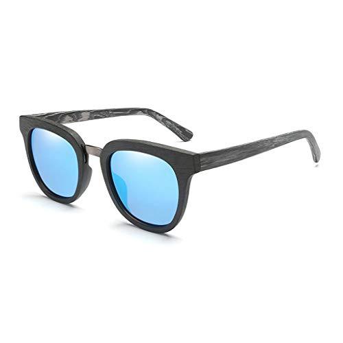 à Lunettes Lunettes Soleil Sport Bleu Hommes à Bambou de polarisées carrée Soleil Couleur Classiques pour pour Lunettes de colorées Lunettes Green Monture Hommes lentilles qASrXFAw
