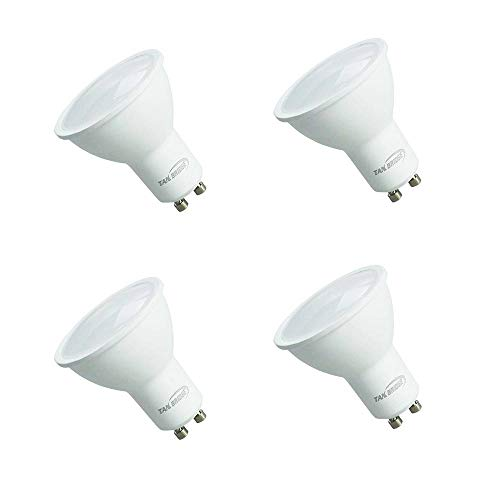 - Gu10 led Bulbs, Tanbridge UL Listed Indor and Outdoor LED Flood Light Bulbs, 5W, 50W Equivalent, Gu10 Base, 3000K Warm White 380 lm, 120° Beam Angle, gu10 led, Energy Star (4 Pack)