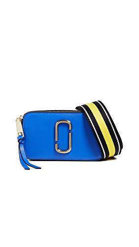 Marc Jacobs Women's Snapshot Camera Bag, Blue Multi, One Size
