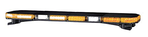 - Amber Low Profile Light Bar, LED Lamp Type, Permanent Mounting, Number of Heads: 16