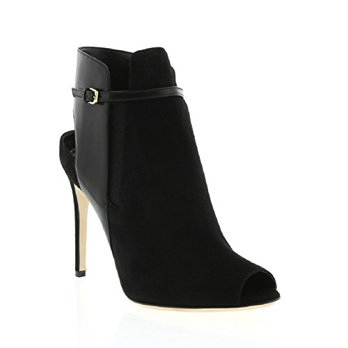 sergio-rossi-black-suede-black-leather-open-heel-ankle-boot