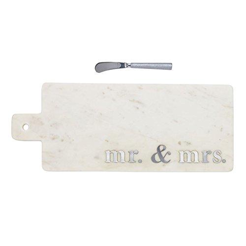 Mud Pie 4755034 Serving Board, One Size, White
