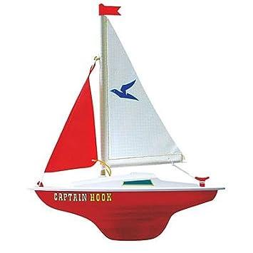 Segelboot zeichnung  Günther 1830 - Segelboot Captain Hook: Amazon.de: Spielzeug