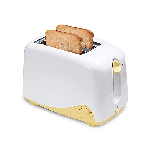 KLYHCHN Toaster Removable Crumb Tray, Compact Stainless Steel Automatic Toaster Electric Automatic Toaster Bread baking…