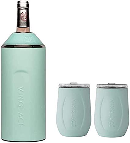Wine Champagne Can /& Bottle CoolerOrange Christmas Gift Neoprene Cooler Set