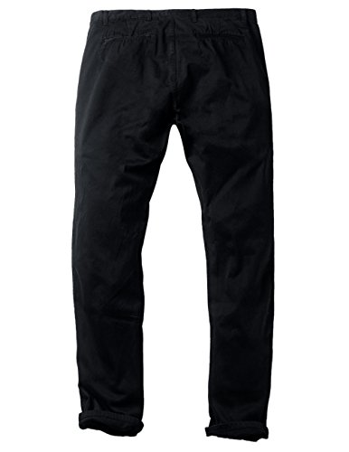 Chino Noir black Homme Slim 8110 Pantalon Tapered Match 8025 6wzTqgnv