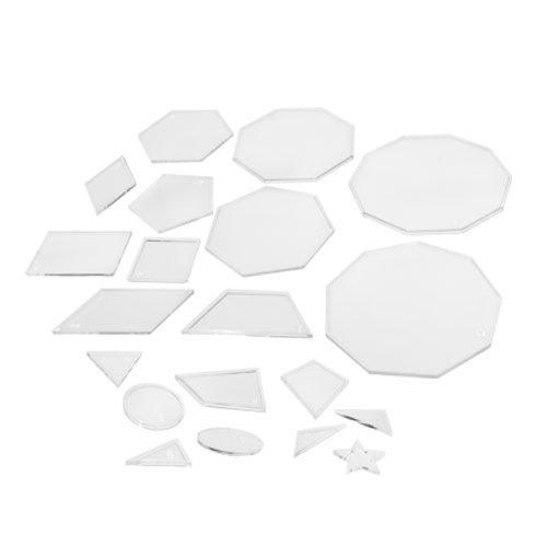 Amazon.com: 20 Geometric Shape Match with Matching Cards ...
