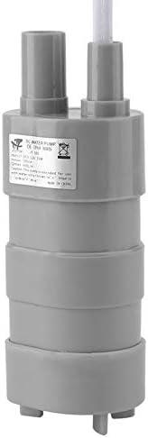Professionelle elektrische Tauchpumpe 12V 15 Liter Wasserpumpe mit Kordel Tiefbrunnen f/ür die Gartenbew/ässerung Auto waschgrau /& wei/ß