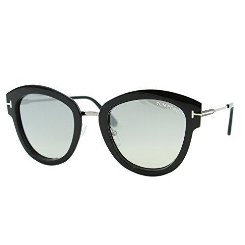 Tom Ford Sonnenbrille (FT0574) ruthenium hell glanz