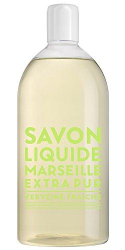 Compagnie de Provence Savon de Marseille Extra Pure Liquid Soap - Verbena - 33.8 fl oz Plastic Bottle Refill
