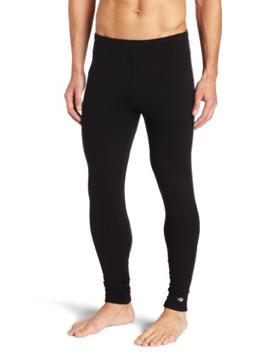 (Duofold Men's Heavy Weight Double-Layer Thermal Pant, Black, Large)