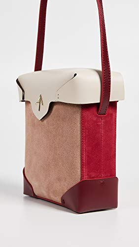 Mini Light MANU Atelier Pristine Red Bag Poudre Box Women's Beige EH1g1wcqWf