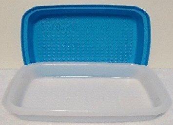 Tupperware Season Serve Jr Marinader Container Blue