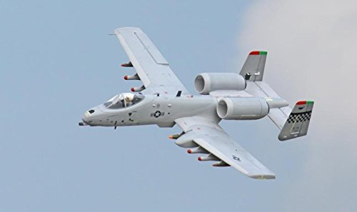 A-10 Thunderbolt II Twin 64mm EDF Jet Ducted Fan RC Airplane PNP ()