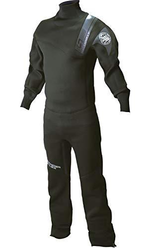 SpyderFlex スパイダーフレックス メンズ ウェットドライスーツ(スリムタイプ) BLACK SWS-38110 BLACK S   B07HGQRN5D