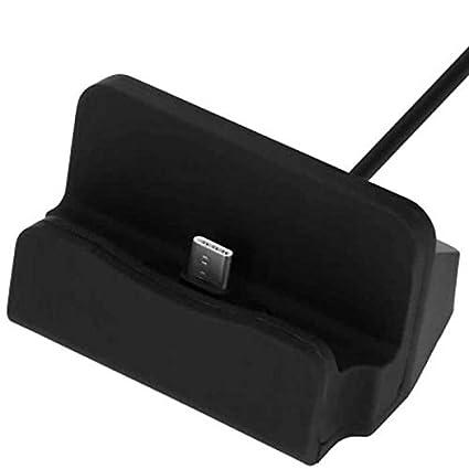 Access-Discount Station Accueil Dock USB Type C Noir pour Huawei P20 Lite