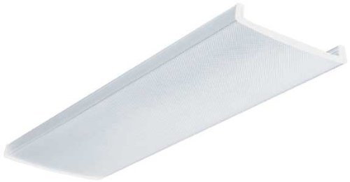 (Lithonia Lighting DLB48 Acrylic Diffuser for 2-Light LB Wraparound Series, 4-Feet)