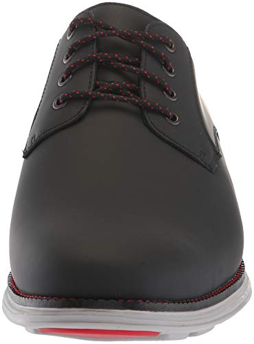 Grand Cole Haan Matte Plain Black Oxford Leather Toe Original Men's txAwpg