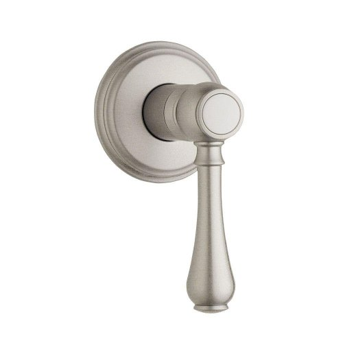 - GROHE Geneva 1-Handle Volume Control Valve Trim Kit in Brushed Nickel with Lever Handle (Valve Not Included)