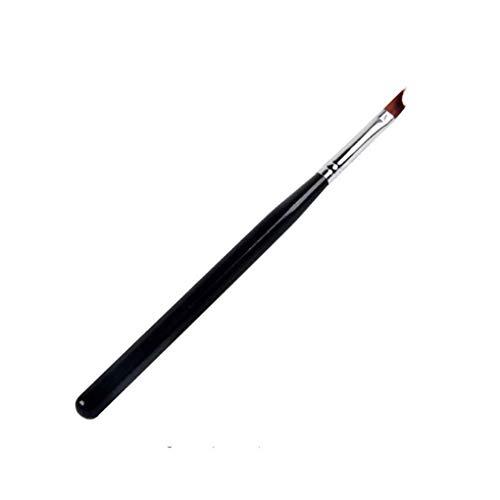 Natural French Manicure - Oblique Head Nail French Brush UV Gel Nail Painting Drawing Polishing Tips Manicure Design DIY Tools Nail Art BlackHarmily Harmily