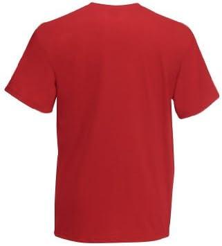 Fruit Of The Loom Value T T-shirt, rozmiary S M L XL XXL, czerwony, XXL: Odzież