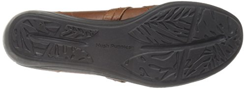 Hush Puppies Womens Charming Oleena Slip On Tan Leather