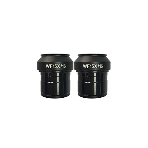 BoliOptics WF 15X Widefield Focusable Microscope Eyepieces, High Eyepoint, Mounting Size 30mm, Field of View 16mm, Adjustable Diopter (Pair) SZ09013421