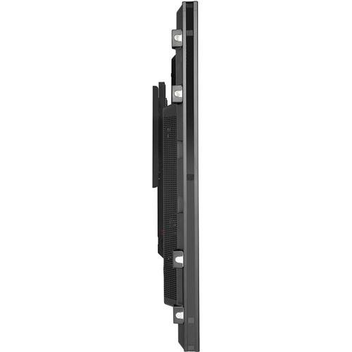 Peerless SF680P Universal Fixed Low-Profile Wall Mount for 60'' to 195'' Displays (Black/Non-Security) by Peerless