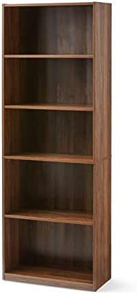 Mainstay Orion Wide 5-Shelf Bookcase,