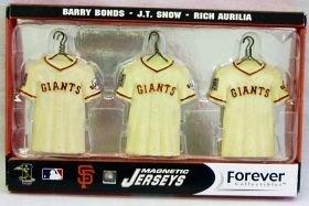 (San Francisco Giants Jersey Magnet Set)